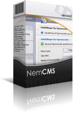 nemcms cms løsninger basis brugervenlig redigeringssystem filarkiv billedearkiv backup statistik webhotel webmail spamfilter fri support