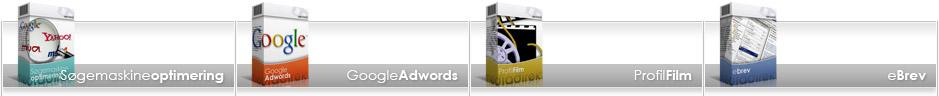 søgemaskineoptimering seo google adwords profilfilm ebrev
